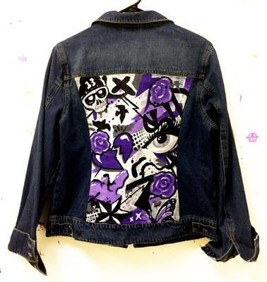 Trash Polka Painted Jacket