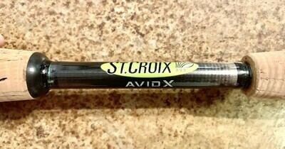 01-Pre-owned St. Croix Avid X AXC66MF  Casting