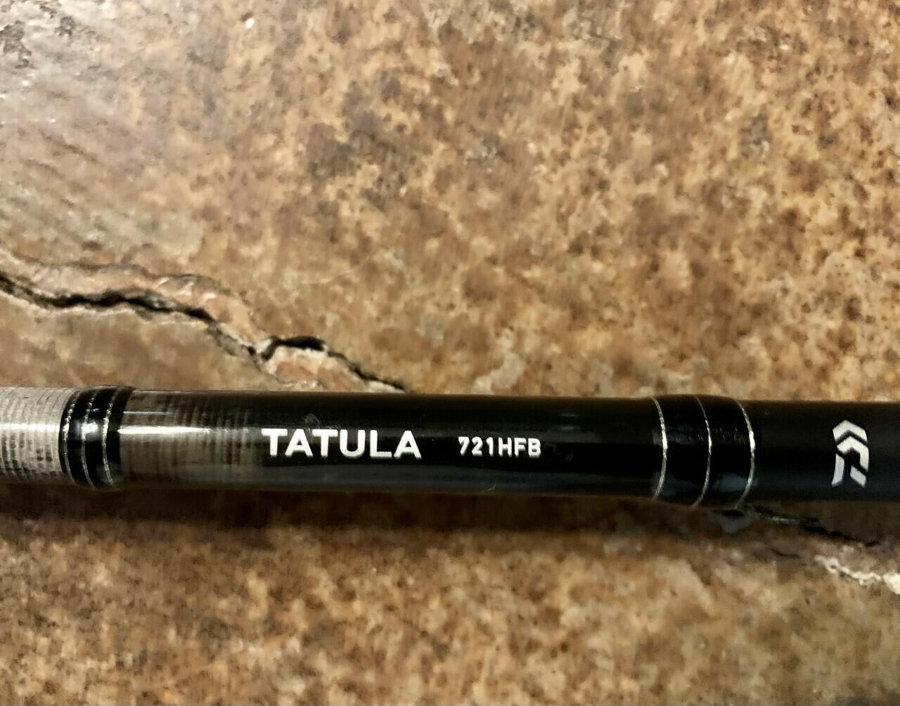 01-Pre-owned Daiwa Tatula 721HFB Casting