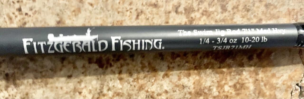 "01-Pre-owned Fitzgerald TSJR71MH ""Bryan Schmitt"" Swim Jig Casting"