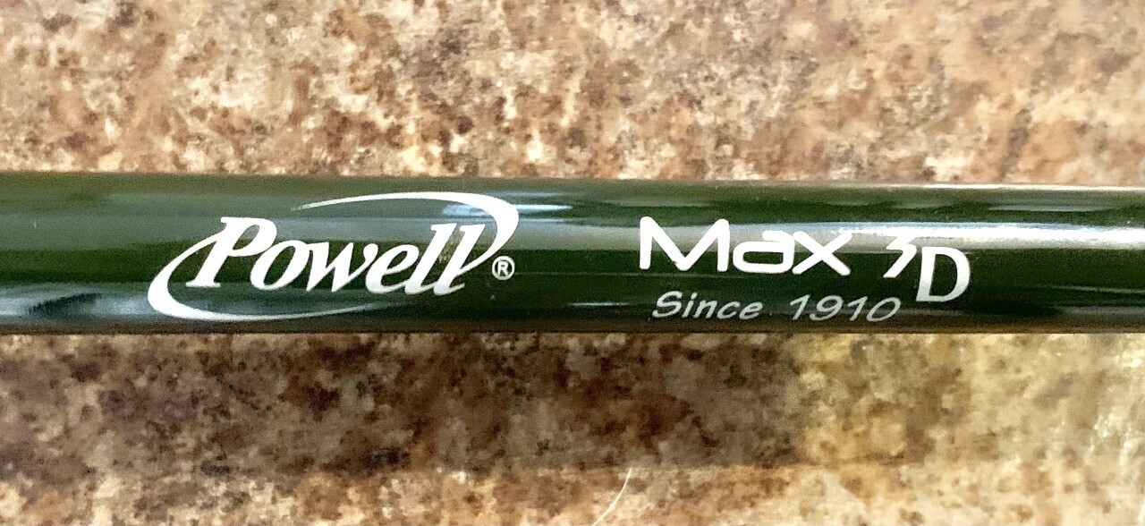 01-Pre-owned Powell Max 3D 765 SBR MMH Casting