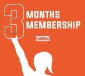 3 Months Membership