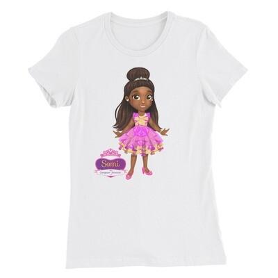 Princess Somi Women's Slim Fit T-Shirt