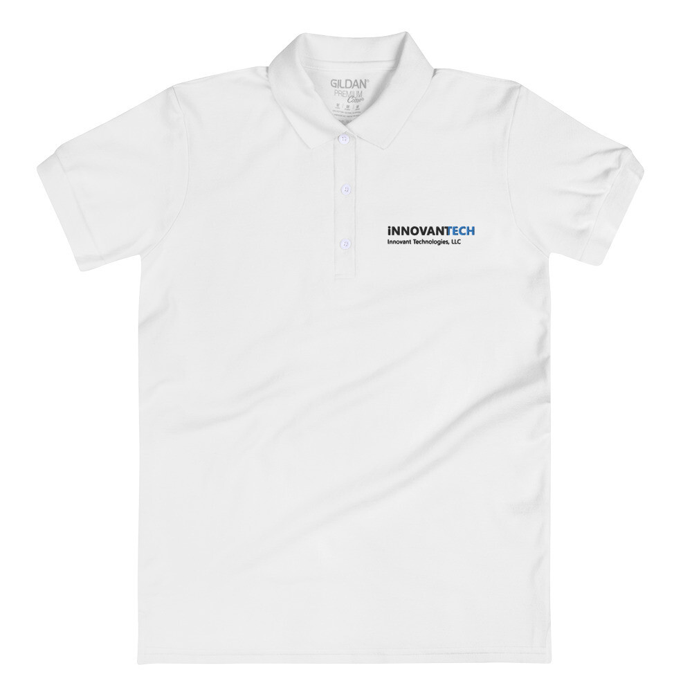InnovantTech Logo Embroidered Women's Polo Shirt