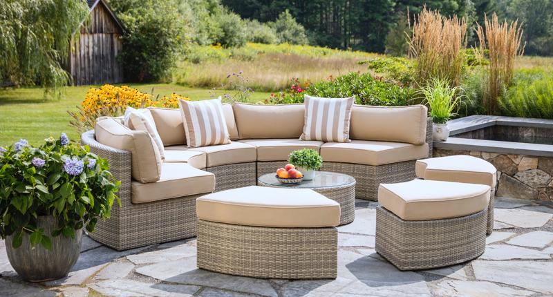 Santorini outdoor patio furniture