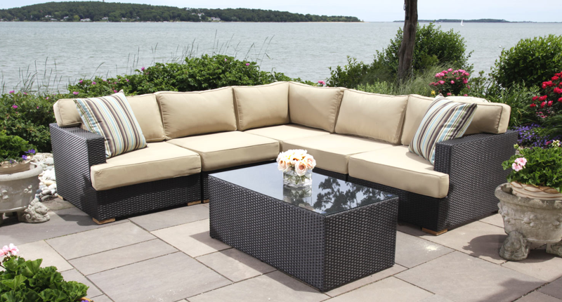 Patio sectional sets