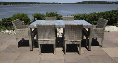 Corsica Outdoor Dining Set for 6