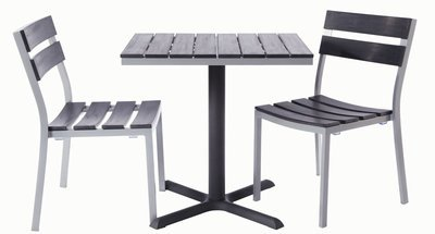 Milloy Outdoor 2-Top Dining Set