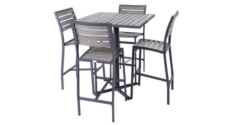 Mason Outdoor 4-Top Bar Set