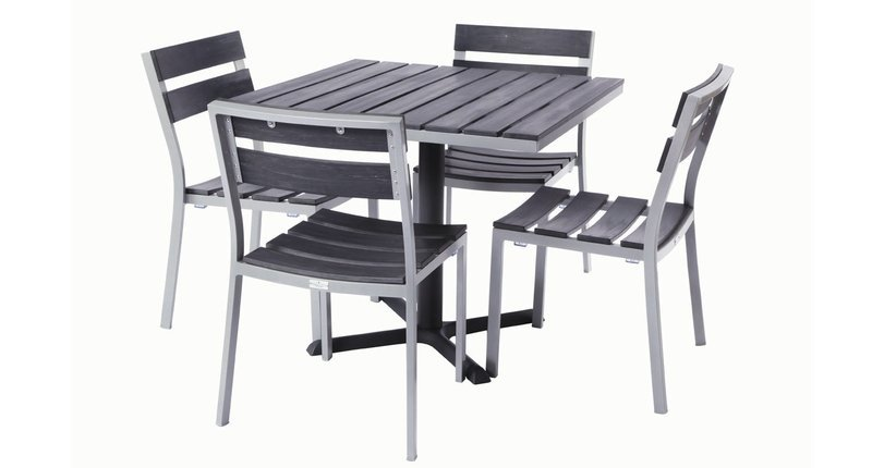 Milloy Outdoor 4-Top Dining Set