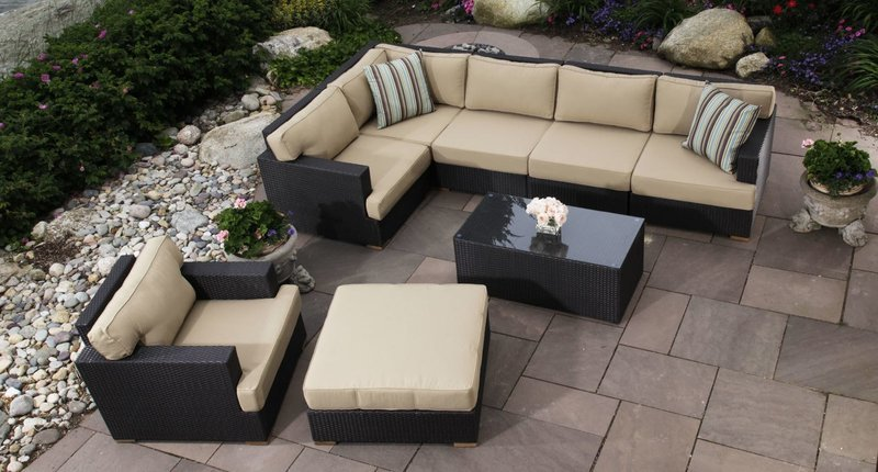 Salina Outdoor Sectional Set