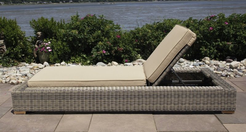 Corsica Outdoor Chaise Lounge Chair