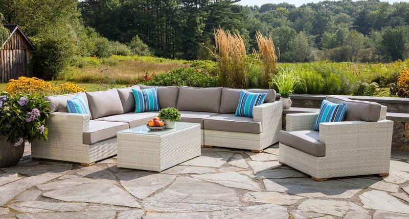 Mykonos Outdoor Sectional Set