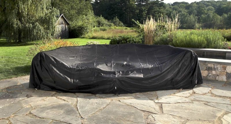 Water Resistant Outdoor Covers - Sectional Set