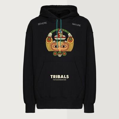 Tribals Calendar Hoodie Black