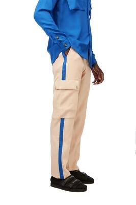 SeverNature x I.N Identity Pants (Cream-Blue)