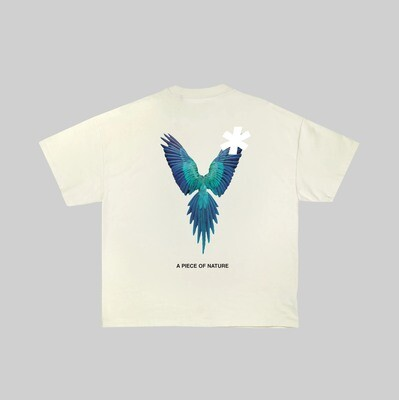 A Piece of Nature Tee : Teal Ave