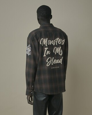 Monster Flannel Brown