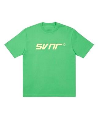 SVNR LOGO TEE (Green-Cream)