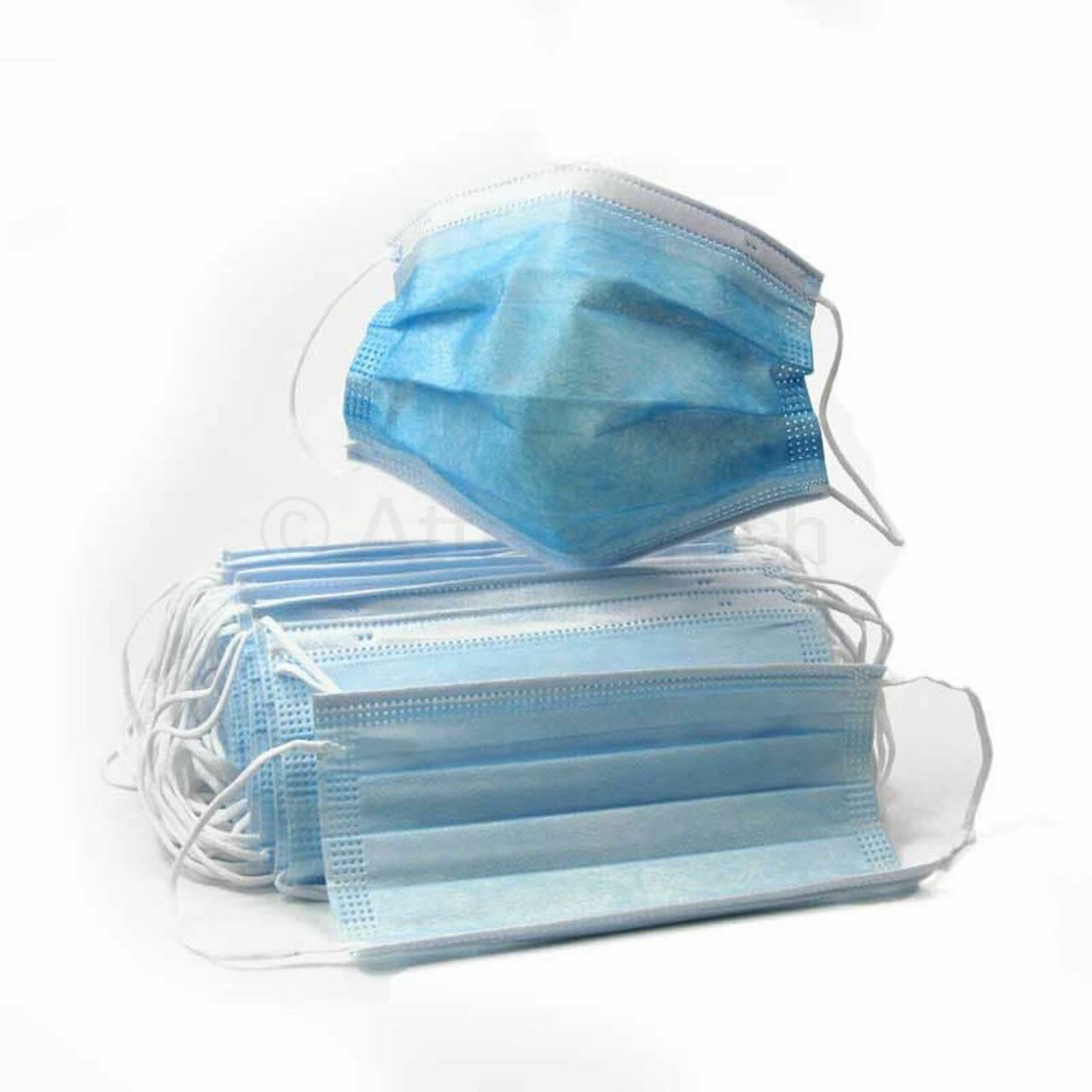 3-Ply Disposable Face Masks (50pcs/box)