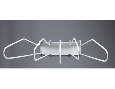 Wall mounted lead Apron Storage Rack with 5 Full Swing Arms, #AP-SWR-5F
