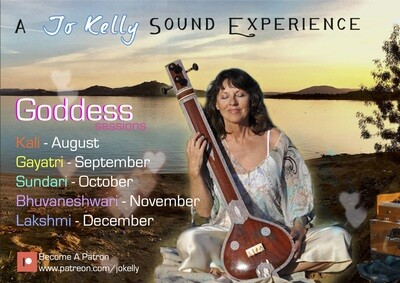 Goddess Sound Experience - FREE Zoom Session - September 5