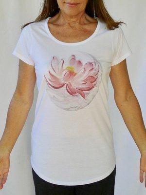 Lunar Lotus Yoga Tee
