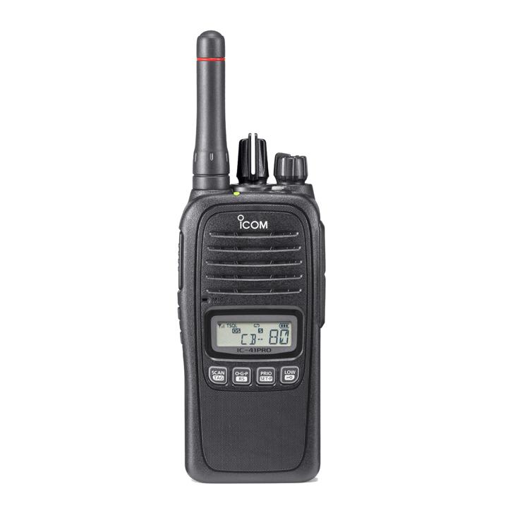 ICOM | UHF Radio IC41PRO - Waterproof