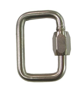 Rescue Carabiner/Maillon . Sold individually
