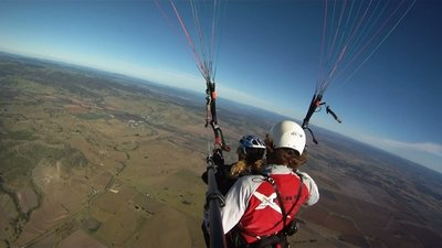 Thermic Cross Country (XC) Tandem Flight for