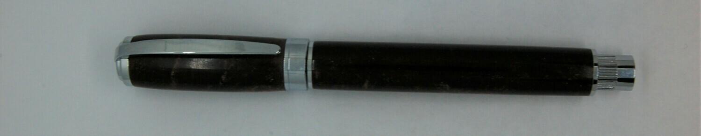 Gilbert Rollerball - Barrel Material -  Custom Chocolate resin
