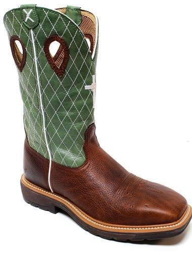Twisted X Men's Cowboy Lite Western Steel Toe Boot