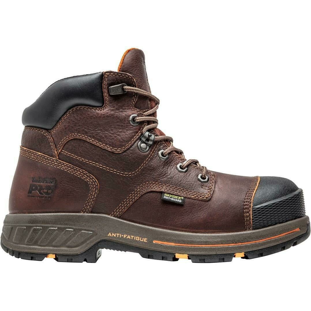 "TIMBERLAND PRO® A1VXG 6"" Helix HD Composite Safety Toe Internal Met Guard"