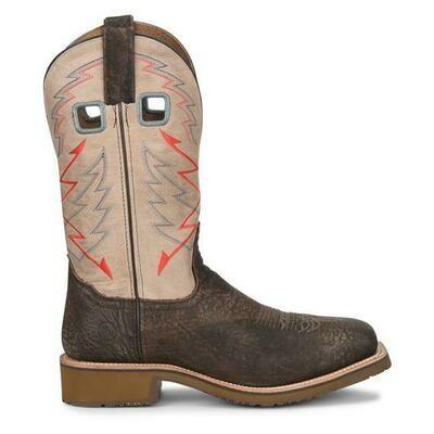 Double H Men's Rogan Roper Steel Toe Boots