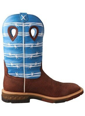 Twisted X Men's 12″ Western Cell Stretch AT