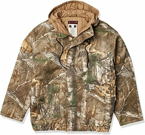 Wolverine FR Insulated Camouflaged Jacket