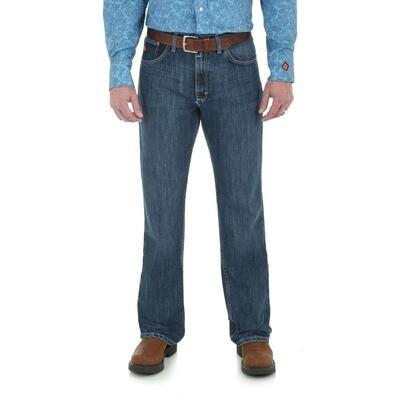 Wrangler Men's FR Flame Resistant Vintage Boot Cut Jeans