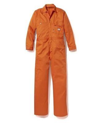 Rasco FR Lightweight Coverall - Orange
