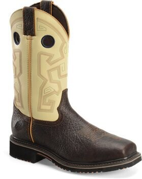 """Double H Men's 13"""" Wide Square Toe Comp Toe Work Boots"""