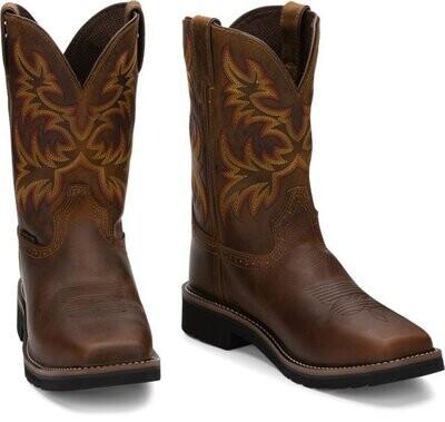 Justin Driller WK4682 Steel Toe Boots