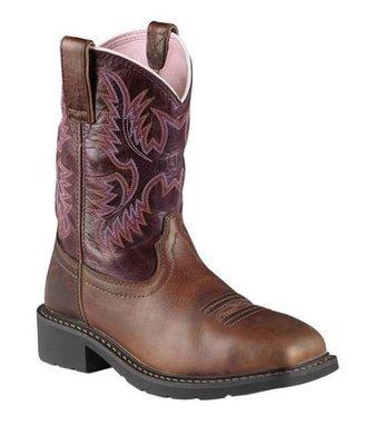 Ladies Ariat Krista Steel Toe Work Boot