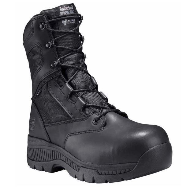 "Timberland Pro 8"" Valor™ Composite Safety Toe Waterproof Side-Zip ** For Women's Sizes go 2 sizes Down **"