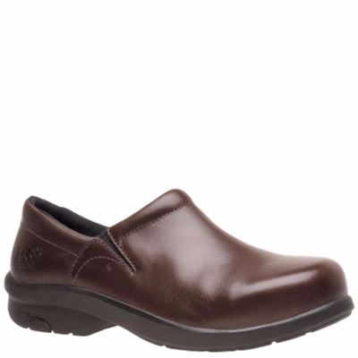 Ladies Timberland PRO Women's Newbury Alloy Toe Slip On Work Shoe