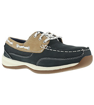 Ladie's Rockport Works Sailing Club Boat Shoe ST