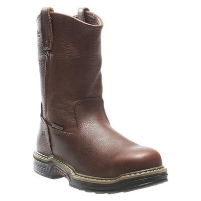 "Wolverine 10"" Wellington Buccaneer Steel Toe Waterproof Work Boot"
