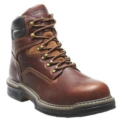"""Wolverine 6"""" Raider Steel Toe Lace-Up Boots"""