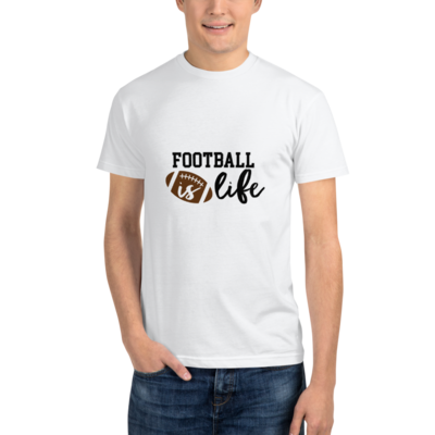 Everyday Football Is Life T-shirt Short Sleeve Unisex Shirt A Touch of Faith