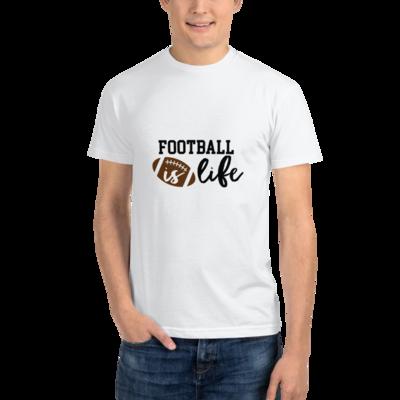 Everyday Football Is Life T-shirt Short Sleeve Unisex Shirt A Touch of Faith