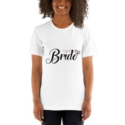 Bride Bling Women's Short-Sleeve Wedding T-shirt A Touch of Faith