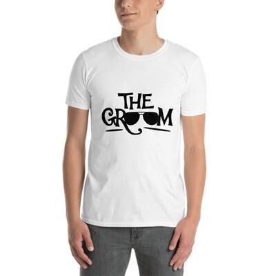 The Groom Wedding Short-Sleeve Unisex T-Shirt A Touch of Faith